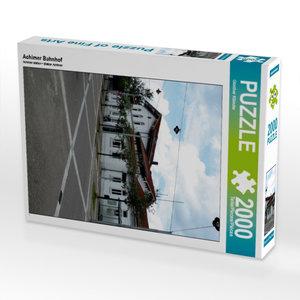 Achimer Bahnhof 2000 Teile Puzzle hoch