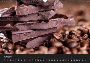 Kaffee & Schokolade (Wandkalender 2019 DIN A3 quer)
