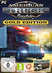 American Truck Simulator, 1 CD-ROM (Gold-Edition)