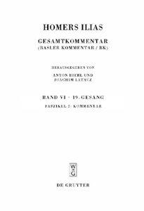Ilias Buch 19. Kommentar