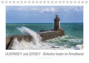 GUERNSEY und JERSEY - Britische Inseln im Ärmelkanal (Tischkalen