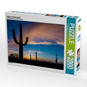 Saguaro Nationalpark 2000 Teile Puzzle quer