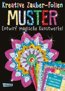 Kreative Zauber-Folien: Muster: Set mit 10 Zaubertafeln, Folien