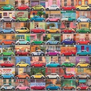 Muchos Autos. Puzzle 500 Teile