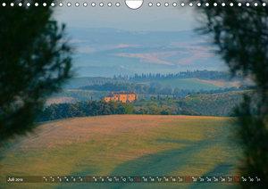 Toskana - Magie der Farben (Wandkalender 2019 DIN A4 quer)