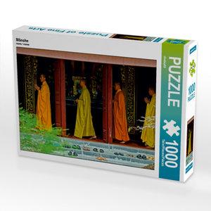 Mönche 1000 Teile Puzzle quer