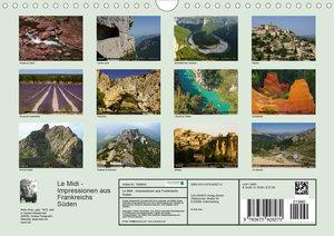 Le Midi - Impressionen aus Frankreichs Süden (Wandkalender 2020