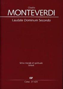 Laudate Dominum, Partitur. Bd.2