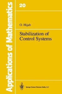 Stabilization of Control Systems