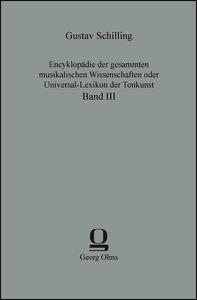 Encyklopädie der gesammten musikalischen Wissenschaften oder Uni