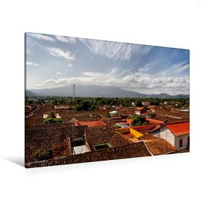 Premium Textil-Leinwand 120 cm x 80 cm quer Granada, Nicaragua