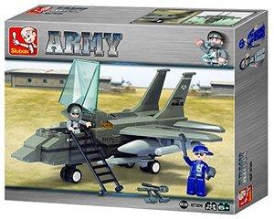 Sluban ARMY M38-B7200 - Kampfjet I, 142 Teile