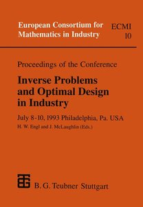 Proceedings of the Conference Inverse Problems and Optimal Desig