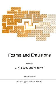 Foams and Emulsions