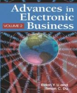 Advances in Electronic Business, Volume II