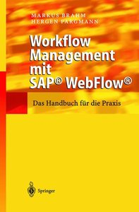 Workflow-Management mit SAP WebFlow