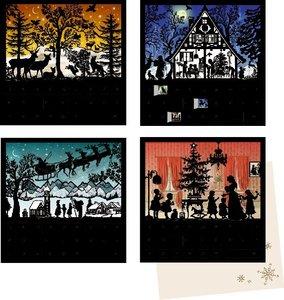 Mini-Adventskalender-Sortiment - Stille Nacht