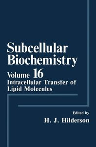 Subcellular Biochemistry