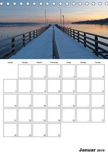 Starnberg Wasserfarben - Watercolours / Planer (Tischkalender 20