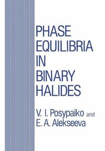 Phase Equilibria in Binary Halides