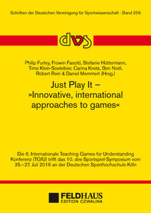 Just Play It - Innovative, international approaches to games