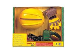 Theo Klein 8435 - Bosch Kettensäge mit Helm und Handschuhen