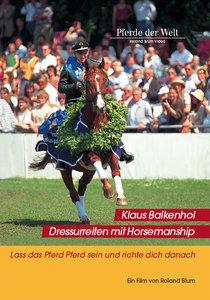 Dressurreiten mit Horsemanship, 1 DVD