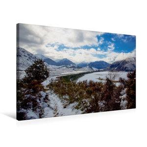 Premium Textil-Leinwand 75 cm x 50 cm quer Craigieburn Forest Pa
