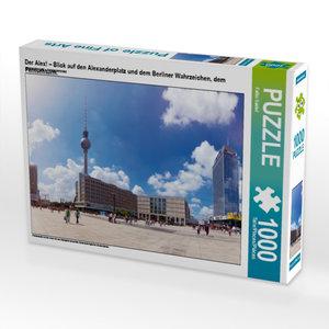Der Alex! ? Blick auf den Alexanderplatz und dem Berliner Wahrze