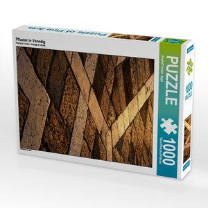 Pflaster in Venedig 1000 Teile Puzzle hoch