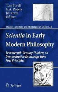 Scientia in Early Modern Philosophy