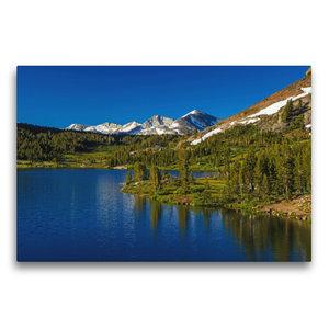 Premium Textil-Leinwand 75 cm x 50 cm quer Yosemite National Par