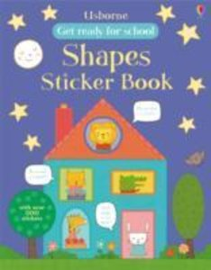 First Shapes Sticker Book