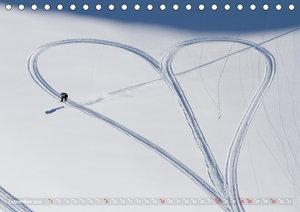 For the Love of It - Snowboarden und Bikes (Tischkalender 2019 D