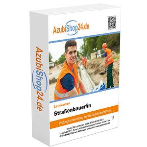 AzubiShop24.de Basis-Lernkarten Straßenbauer/in