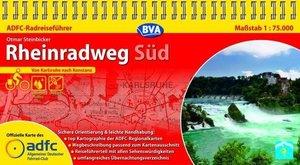 ADFC Radreiseführer Rheinradweg Süd 1 : 75 000