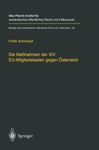 Die Maßnahmen der XIV EU-Mitgliedstaaten gegen Österreich