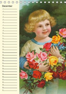 Flower Kids (UK-Version) (Table Calendar perpetual DIN A5 Portra