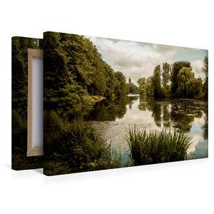 Premium Textil-Leinwand 45 cm x 30 cm quer Kermisdahl