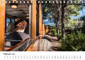 Die Schienen von Soller und Port de Soller (Tischkalender 2018 D