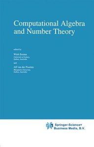 Computational Algebra and Number Theory
