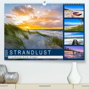 STRANDLUST: Fischland-Darß-Zingst(Premium, hochwertiger DIN A2 W