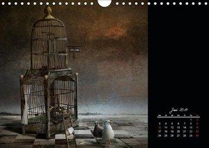 Irgendwo im Reich der Fantasie (Wandkalender 2019 DIN A4 quer)