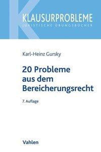 20 Probleme aus dem Bereicherungsrecht