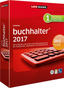 Lexware Buchhalter 2017, 1 CD-ROM
