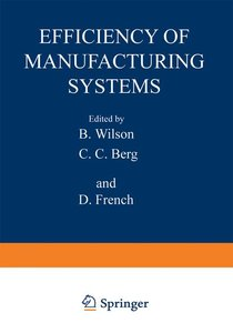 Efficiency of Manufacturing Systems