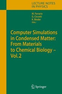 Computer Simulations in Condensed Matter: From Materials to Chem