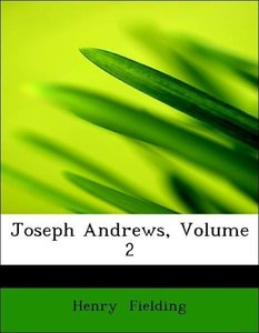 Joseph Andrews, Volume 2