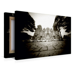 Premium Textil-Leinwand 45 cm x 30 cm quer Berliner Dom