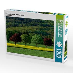 Sommerfarben im Idsteiner Land 1000 Teile Puzzle quer